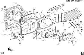 2005 cadillac srx problems rear hatch window seal on 05 srx v8