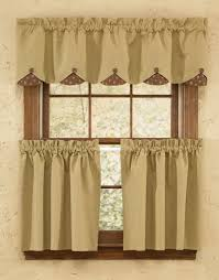 Lined Swag Curtains Quilt Lined Scalloped Curtain Valance