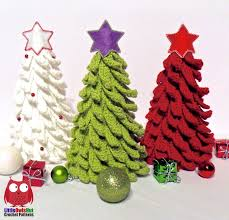 001 christmas tree new year pattern amigurumi crochet