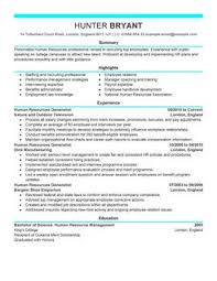 Sample Hr Director Resume by Examples Of Hr Resumes