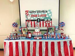 boy 1st birthday ideas dr seuss thing 1 thing 2 boys birthday party birthday