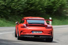 porsche gt3 rs yellow 2016 porsche 911 gt3 rs review