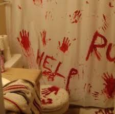 gorgeous inspiration halloween bathroom decor sets skeleton shower