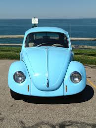 Vw Beetle Classic Interior Volkswagen Beetle Classic Sedan 1968 Light Blue For Sale