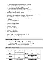 exle of a basic resume resume of supriya mare pptx