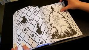 coloring book flip disney art coloring beauty