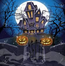 Halloween Monster House 25 347 Cemetery Stock Illustrations Cliparts And Royalty Free