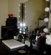 vanity broadway bedroom lighted vanity makeup mirror bedroom oak