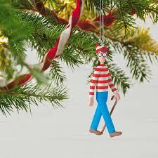 where s waldo ornament keepsake ornaments hallmark