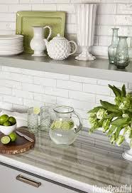 kitchen glass tile backsplashes hgtv green mosaic kitchen