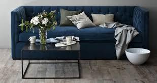 10 easy pieces the blue velvet sofa luxe edition remodelista