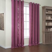 Purple Nursery Curtains by Solid Cotton Polyester Blend Modern Eco Friendly Curtain Kids