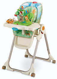 Forest High Chair Fisher Price Rainforest Healthy Care High Chair Baby Gear