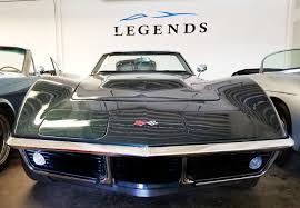 corvette stingray 1955 1968 corvette stingray convertible legends car rentals