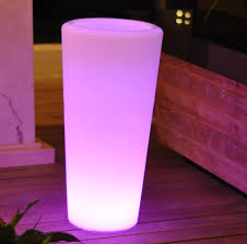 vase lighting garden ideas home decoration tall idolza