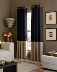 collection in tan and grey curtains and beige buffalo check