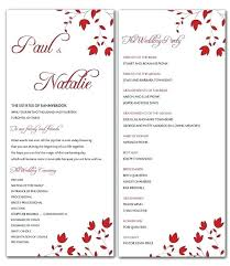 wedding ceremony bulletin bulletin template microsoft word word sign template wedding