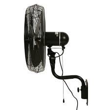 ceiling mount oscillating fan durafan 24 indoor outdoor oscillating wall mount fan black