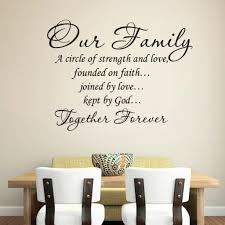 family quote wall art daily quotes life