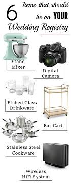 what to put on bridal registry things to put on a wedding registry wedding photography