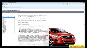 volvo car wiring diagrams volvo wiring diagram schematic