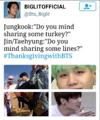 Ohhhh Meme - ohhhh i love these thanksgivingwithbts memes