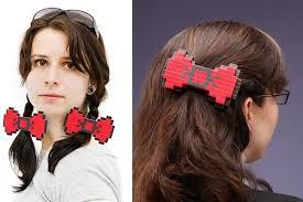 hair bow with hair bit hair bow