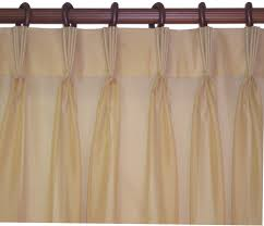 Drapery Pleat Hooks Interior Brown Pinch Pleat Curtains With Brass Polished Curtains