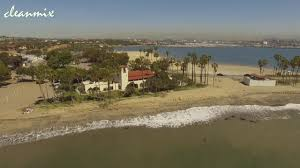 cabrillo beach los angeles california drone 4k youtube