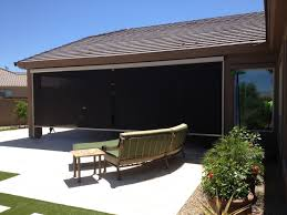 Retractable Awning With Bug Screen Retractable Patio Drop Screens