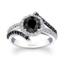 black diamond wedding band barkev s black diamond engagement ring bc 8029lbk