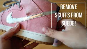 how to clean light suede shoes how to remove scuffs and marks from suede youtube