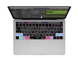 pro tools keyboard cover with shortcuts for mac keyboards