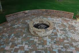 Brick Patio Diy Beautiful Brick Patio Designs With Fire Pit 52 With Additional Diy