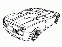 fast car coloring pages coloring