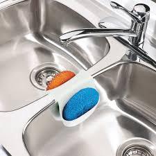 Kitchen Sink Caddy by Amazon Com Umbra Saddle Sink Caddy U2013 Flexible Rubber Organizer