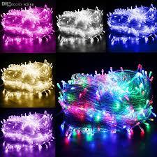 led christmas lights ebay wholesale multi color 50m 400 led bulbs fairy string light outside
