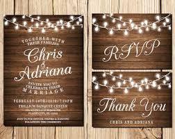 wedding invitations etsy rustic wedding invitations etsy il 340 270 884075464 jrsg