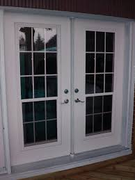 Clear Glass Entry Doors by Four Paneled Fiberglass Entry Doors With Half Round Single
