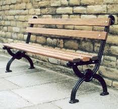 wrought iron bench ends garden park benches