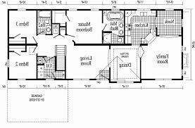 mobile home floor plan inspirational 3 bedroom single wide mobile