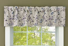 lilac cottage lined window valance 60
