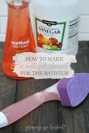 How To Clean A Plastic Bathtub by Best 25 Bathtub Cleaner Ideas On Pinterest Clean Bathtub