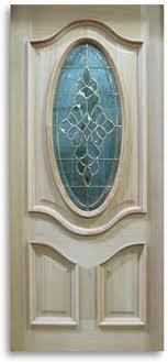 Oak Exterior Doors Oak Exterior Door 3 4 Oval With Brass Caming 36 W Slab Only