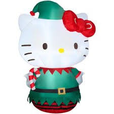 Christmas Outdoor Decorations Canadian Tire by Airblown Hello Kitty Candy Cane Gemmy Hello Kitty Christmas