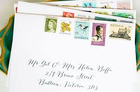 Stamps For Wedding Invitations Hello May Saint Gertrude