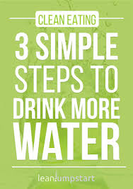 Water Challenge Steps How To Drink Water Effectively In 3 Simple Steps And Support Clean