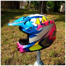 airbrushed motocross helmets so i painted a helmet opinions please moto related