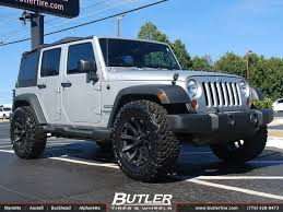jeep rims black jeep wrangler with 20in black rhino sidewinder wheels for the