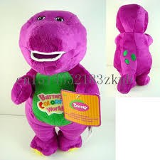 sale barney dinosaur 28 cm sing love song purple